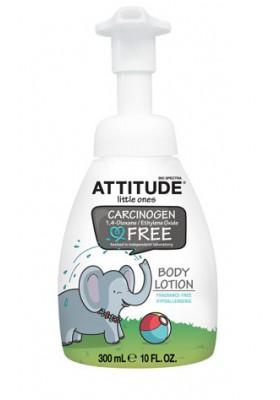Body Milk ecológico Attitude para bebés 300 ml