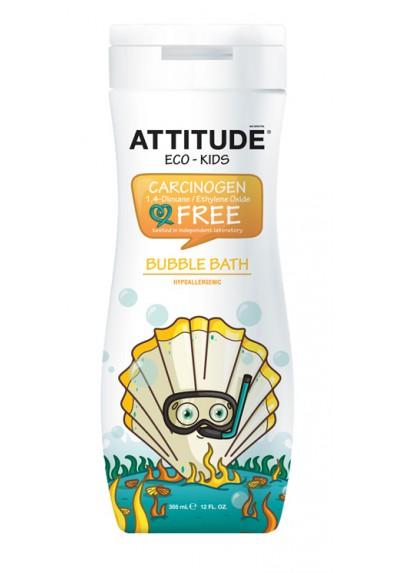 Espuma de baño ecológica Attitude para bebés y niños