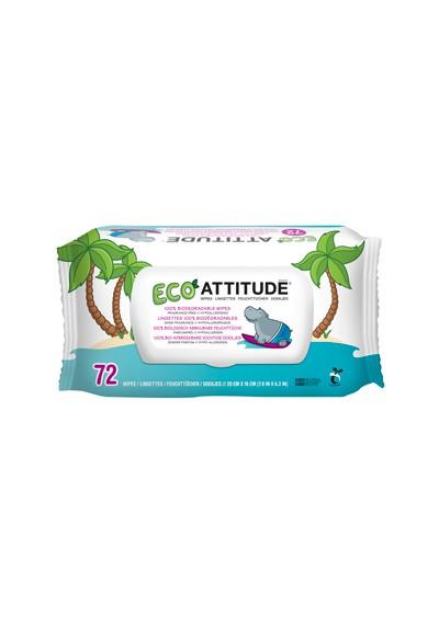 Toallitas Attitude hipoalergénicas 72 unidades