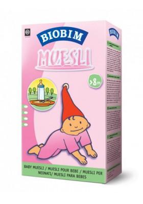Papillas ecológicas Biobim Muesli (8 meses) 200g