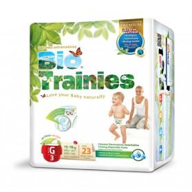 Pañales Bio Baby Trainies (15-18kg) 23uds