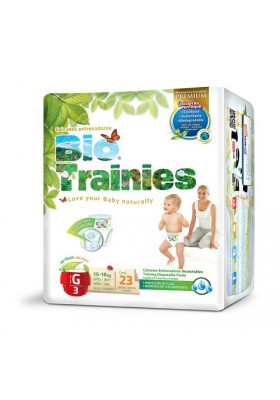 Pañales ecológicos Bio Baby - Bio Trainies 15-18kg Talla L