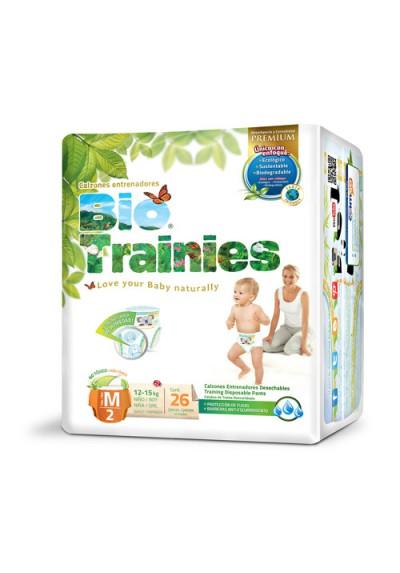 Pañales ecológicos Bio Baby - Bio Trainies 12-15kg Talla M