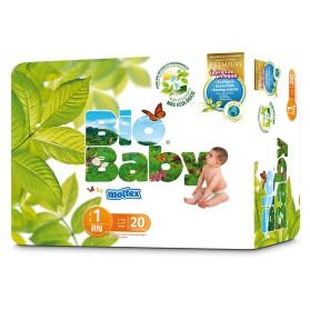Pañales Bio Baby Talla 1 (3-6kg) 20uds