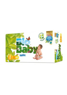 Pañales ecológicos Bio Baby 5-8kg Talla 2 40 und