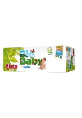 Pañales ecológicos Bio Baby 7-10kg Talla 3 34 und