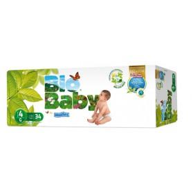 Pañales Bio Baby Talla 4 (9-13kg) 34uds
