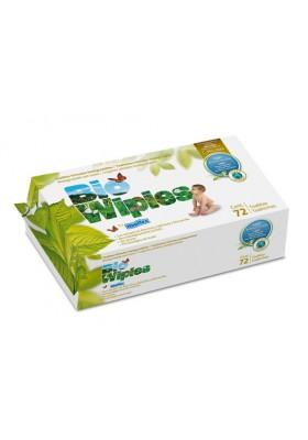 Toallitas Bio Baby ecológicas Bio Wipies 72 und