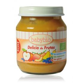 Potitos Babybio Frutas 4M+ 2x 130gr