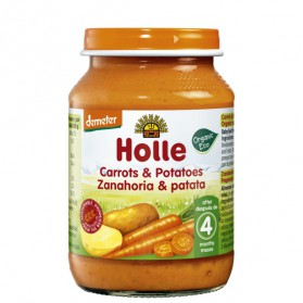 Potitos Holle Zanahoria & Patata 4M+ 190gr