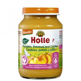 Potitos Holle Calabaza & Pollo 6M+ 190gr