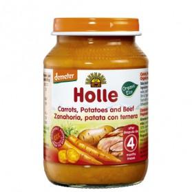 Potitos Holle Zanahoria Patata & Ternera 6M+ 190gr