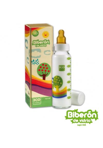 Biberones ecológicos Ico Baby de cristal 240ml