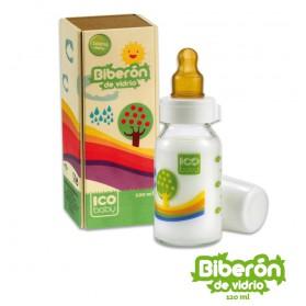 Biberón ICO Baby cristal 120ml