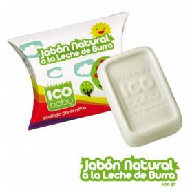 Jabón leche de burra ICO Baby 100gr