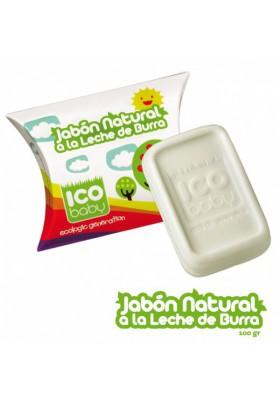 Jabón de leche de burra ecológico ICO BABY 100gr