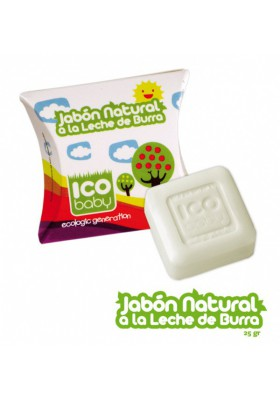 Jabón de leche de burra ecológico ICO BABY 25gr
