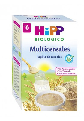 Papilla HIPP ecológica Multicereales 6m+ 400gr
