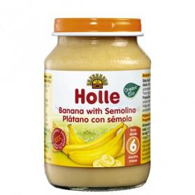 Potitos Holle Plátano & Sémola maíz 6M+ 190gr