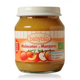 Potitos Babybio Melocotón y Manzana 4M+ 130gr