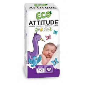 Pañales Attitude (3-7 kg) 36uds
