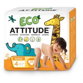 Pañales Attitude (9-14 kg) 26uds