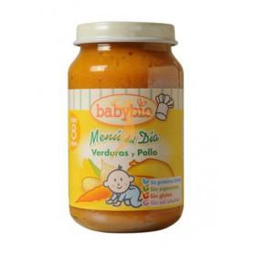 Potitos Babybio Verduras con Pollo 8M+ 200gr