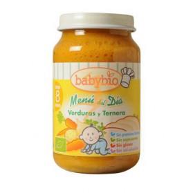 Potitos Babybio Verduras y Ternera 8M+ 200gr