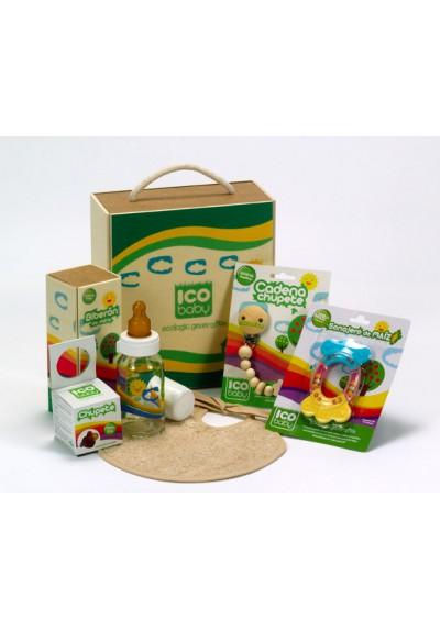 Canastilla ICO Baby Green Box ¡Todos los accesorios ECO!