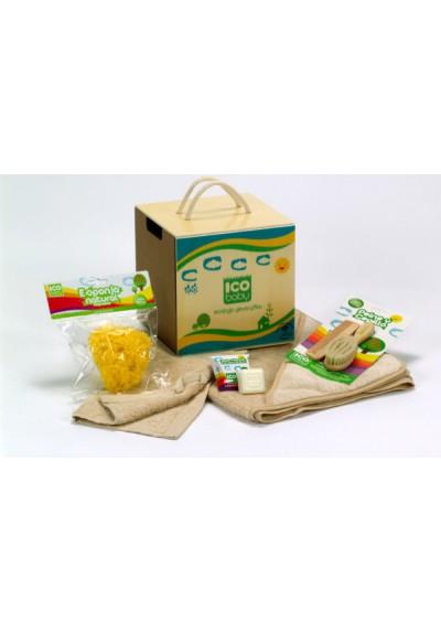 Canastilla ICO Baby Blue Box ¡El regalo perfecto para el baño!
