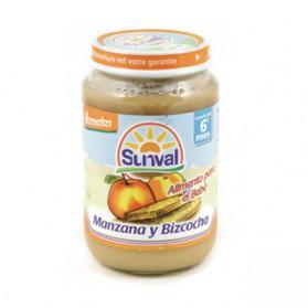 Potitos Sunval Manzana & Bizcocho 190gr 4m+