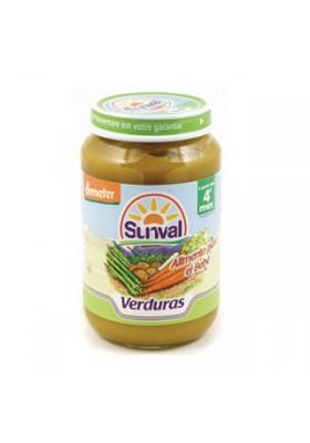 Potito Sunval Verduras 190gr 4m+