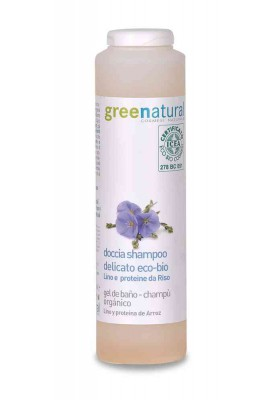 Gel de Ducha & Champú Delicado Ecológico GreeNatural 250ml
