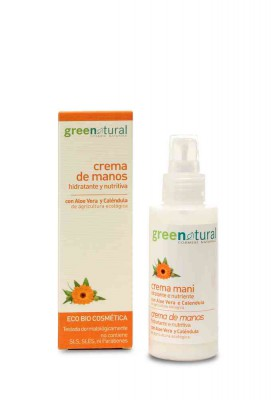 Crema de Manos Hidratante Ecológica Greenatural 100ml