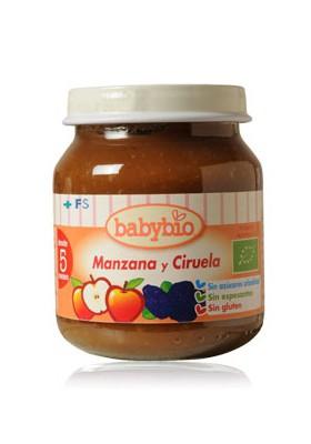 Potitos Babybio Manzana & Ciruela 8M+ 130gr