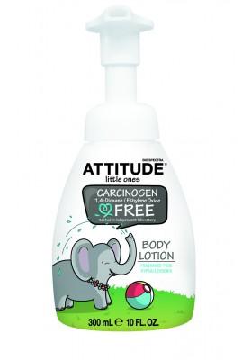 Attitude Loción corporal ecológica peques sin perfume 300 ml eco