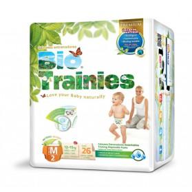 Pañales Bio Baby Trainies (12-15kg) 26uds