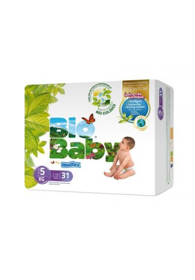 Pañales ecológicos Bio Baby 12-16kg Talla 5 31 und
