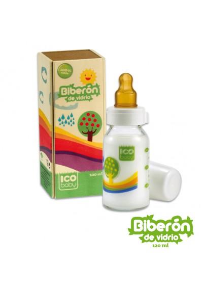 Biberones ecológicos Ico Baby de cristal 120ml
