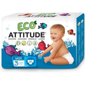 Pañales Attitude (5-11 kg) 30uds