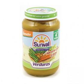 Potitos Sunval Verduras 190gr 4m+