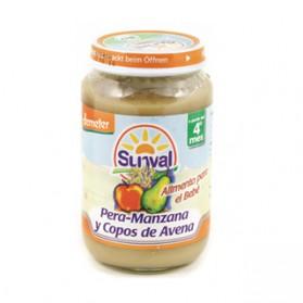 Potitos Sunval Pera & Avena 190gr 4m+