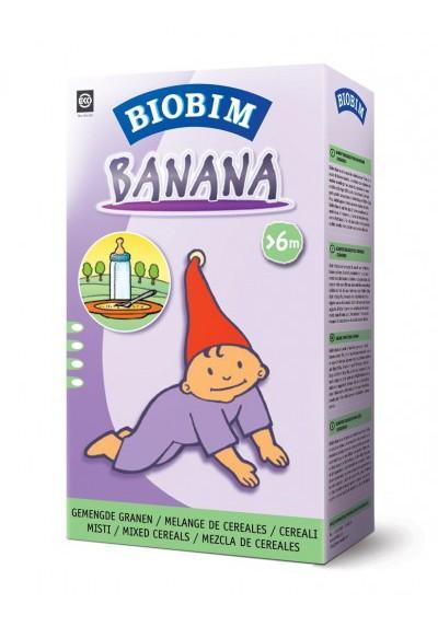 Papillas ecológicas Biobim Banana 6 meses