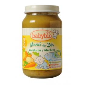 Potitos Babybio Verduras & Merluza 8M+ 200gr