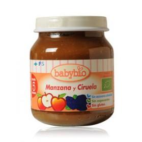 Potitos Babybio Manzana & Ciruela 5M+ 130gr